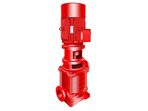 XBC-DL Type Single-Suction Multi-Stage Sectional Vertical Fire Pump