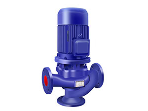 GW-type pipe-type non-clogging sewage pump